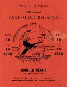1950 APBA Unlimited Trophy - Lake Mead, Salton Sea Races Bring Big
