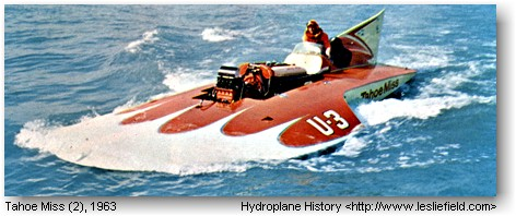 The Building Of A Hydroplane 1963 Tahoe Miss 2
