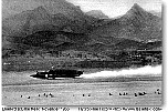 Bluebird speed record at Lake Mead, 1955